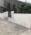 塀改修工事