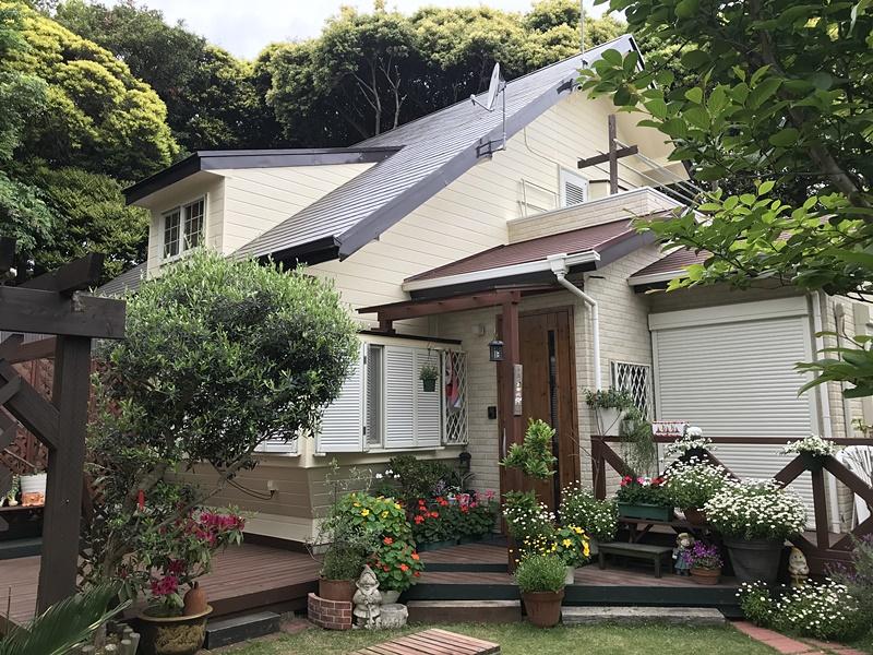 おしゃれな雰囲気の家