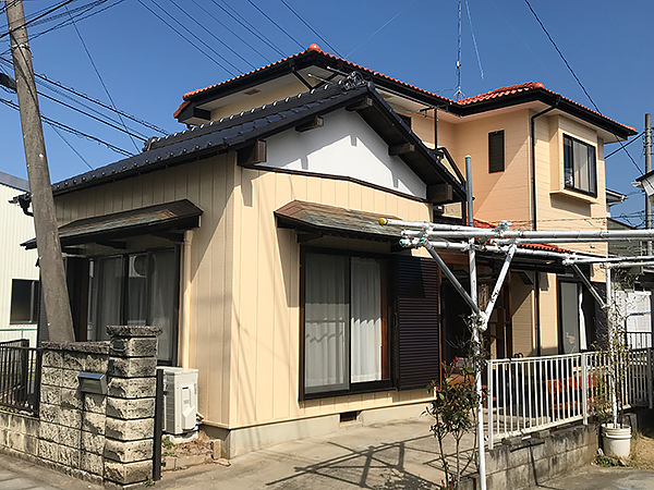 瓦屋根の塗装
