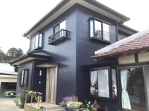千葉県香取市 外壁塗装|長期間耐久性の高い無機塗料タテイルαで塗装