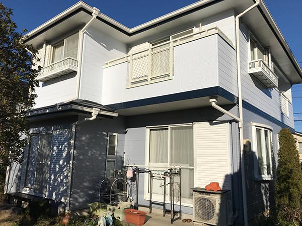 茨城県龍ヶ崎市 外壁屋根塗装|20年経過した外装を耐久性の高い塗料で修繕