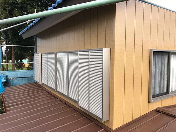 茨城県稲敷市 屋根雨漏り|水はけが悪く雨漏りしていた屋根材を葺き替え修繕