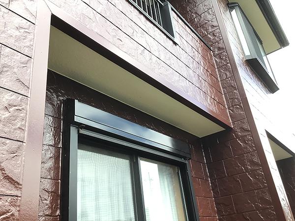 外壁塗装のアップ