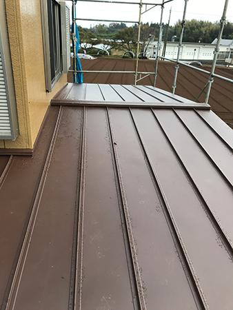 屋根の塗装事例