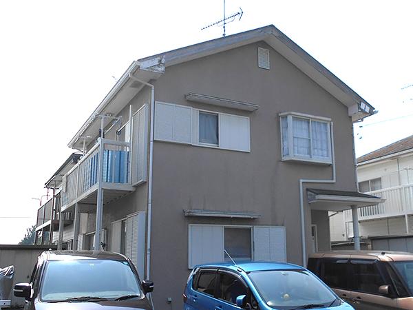 茨城県稲敷郡 外壁屋根塗装 クラックを補修して安心