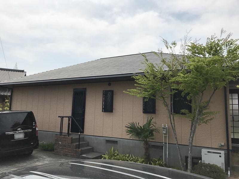 屋根と外壁の塗装