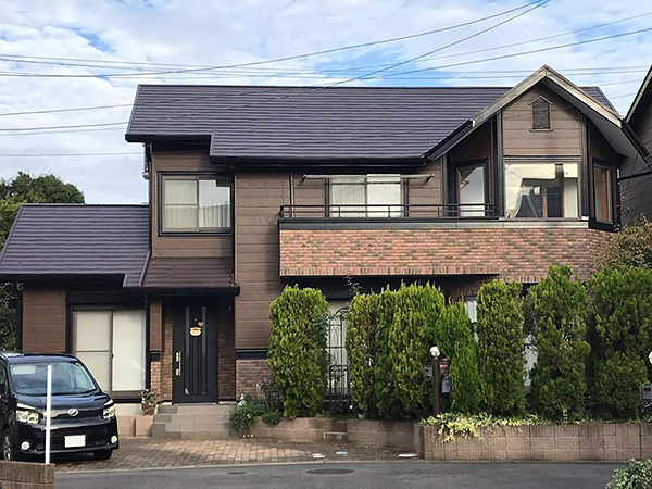 茨城県つくば市 外壁屋根塗装|耐震性を考慮し金属サイディングカバー工法に