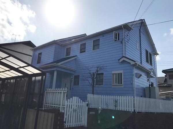 千葉県成田市外壁屋根塗装アフター682写真1