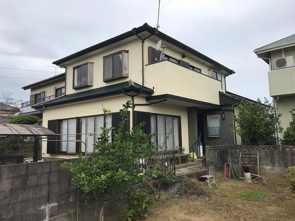 千葉県香取郡外壁屋根塗装アフター700写真