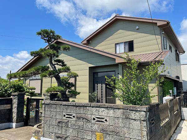 茨城県神栖市外壁屋根塗装|ラジカル塗料で施工