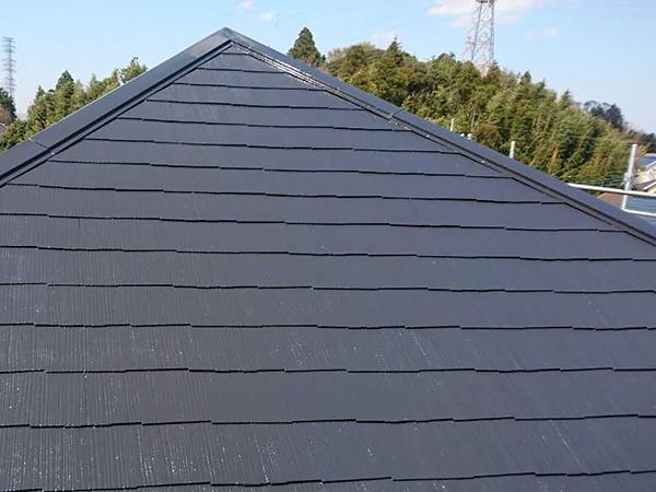 千葉県八街市外壁屋根塗装 既存より明るい塗料に