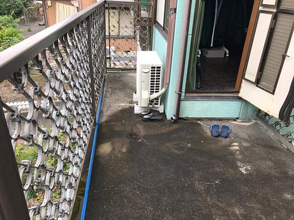茨城県取手市バルコニー工事|ベランダからの雨漏りを解消