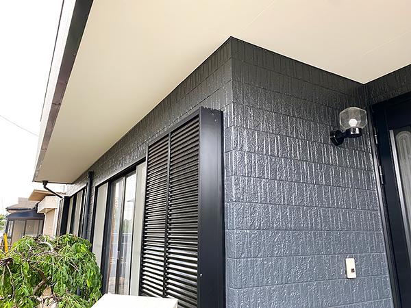 千葉県香取市外壁塗装工事|シックなグレーに変更し外観が一新