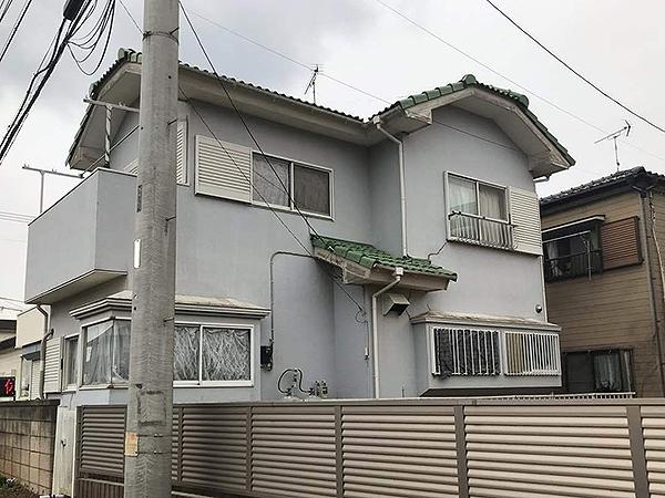 千葉県富里市外壁屋根塗装|明度を下げて重厚感のある色へ