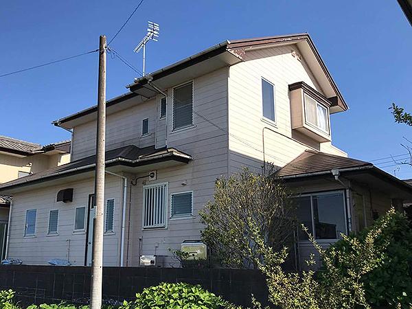 千葉県香取市外壁屋根塗装 屋根と同時施工で外観が一新
