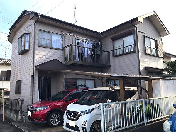 千葉県富里市外壁屋根塗装工事 雨戸周りの痛みも同時に修繕
