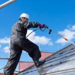 屋根の洗浄