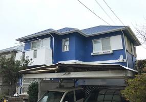 佐倉市, 千葉県, ,外壁塗装,シリコン塗装,1105