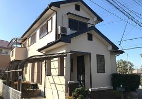 牛久市, 茨城県, ,外壁屋根塗装,シリコン塗装,1110