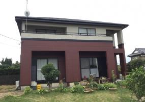 潮来市, 茨城県, ,外壁塗装,ラジカル塗装,1069